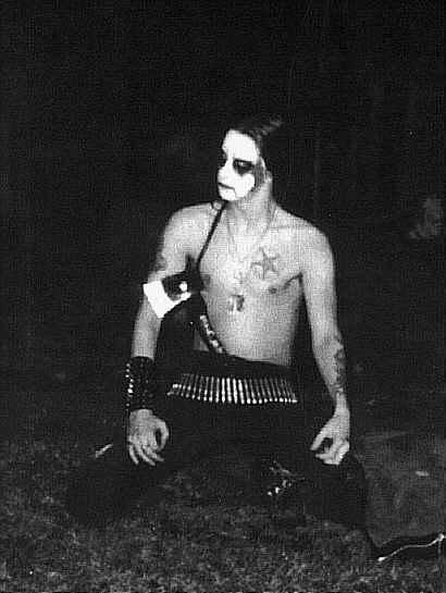 Black Metal Corpse Paint Darkthrone