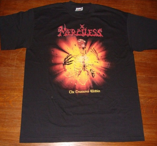 MERCILESS : The Treasures Within TS S-size