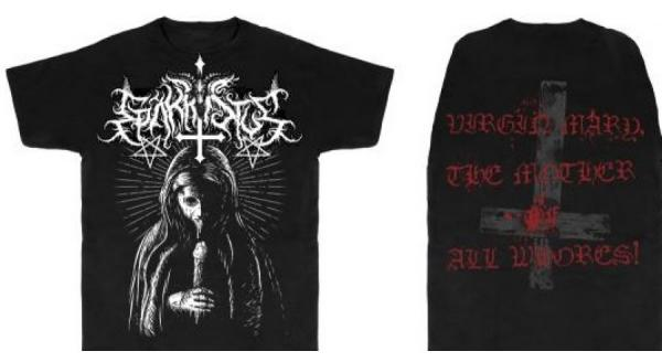 EPÄKRISTUS : Virgin Mary, The Mother of All Whores! TS XL-size