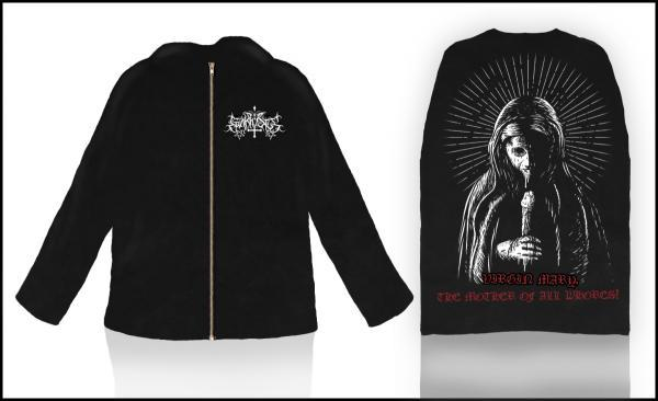 EPÄKRISTUS : Virgin Mary, The Mother of All Whores! Hoodie XL-size