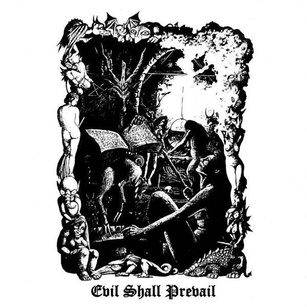 BLACK WITCHERY : Evil Shall Prevail dlp - KVLT shop
