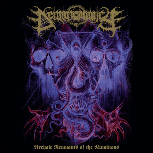 DEMONOMANCY (ITA) / WITCHCRAFT (FIN) : Archaic Remnants Of The Numinous / At The Diabolus Hour