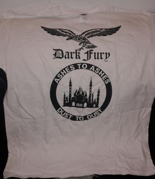DARK FURY : Ashes To Ashes, Dust To Dust TS XL-size