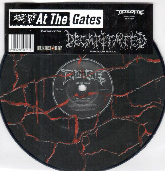 AT THE GATES / DECAPITATED : Captor Of Sin / Mandatory Suicide 2ND HAND