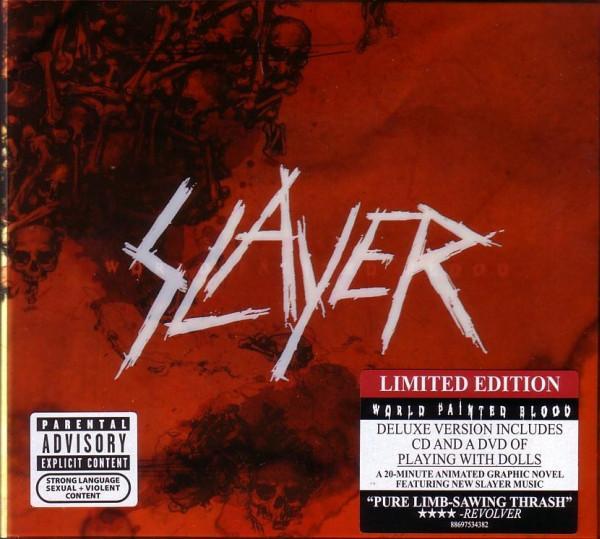 SLAYER : World Painted Blood cd+dvd - KVLT shop