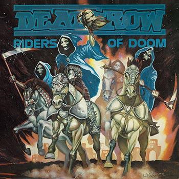 DEATHROW : Riders of Doom 2ND HAND lp - KVLT shop