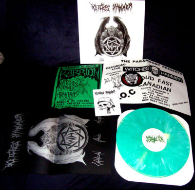 WITCHES HAMMER : Canadian Speed Metal 2ND HAND