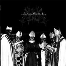 HELL MILITIA : Canonisation of the Foul Spirit 2ND HAND
