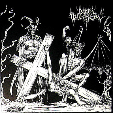 BLACK WITCHERY : Desecration Of The Holy Kingdom 2ND HAND
