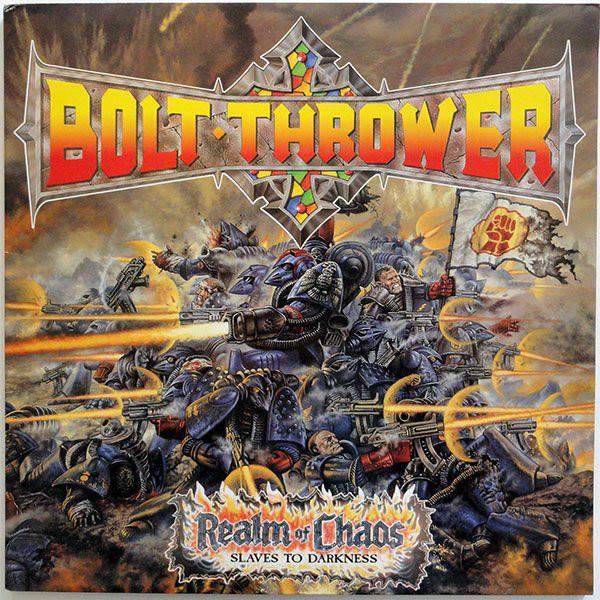 BOLT THROWER : Realm Of Chaos 2ND HAND