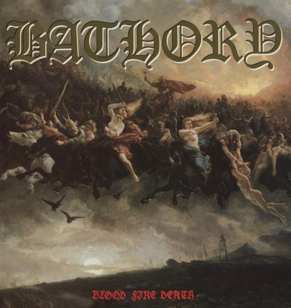 BATHORY : Blood Fire Death 2ND HAND