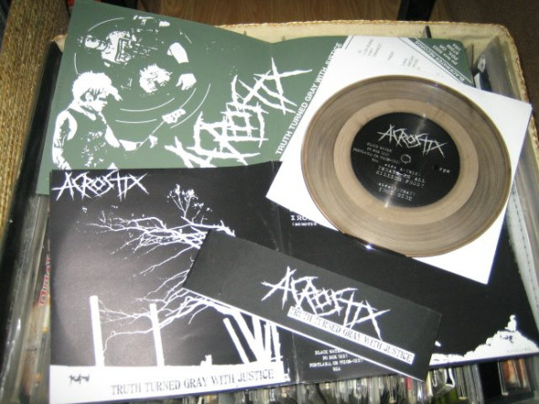 ACROSTIX : Truth Turned Gray With Justice