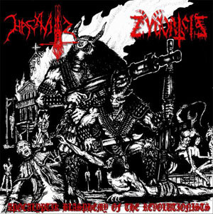 ZYGOATZIS / HACAVITZ : Apocalyptik Blasphemy Of The Revolutionists 2ND HAND