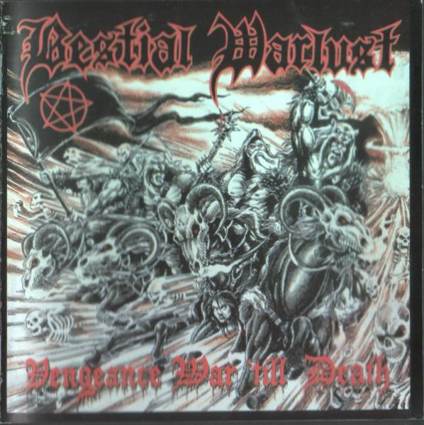 BESTIAL WARLUST : Vengeance War 'Till Death 2ND HAND