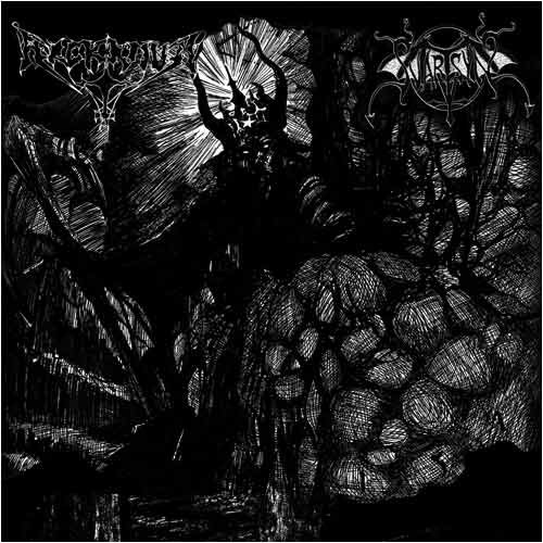 ARCKANUM / SVARTSYN : Kaos svarta mar / Skinning the Lambs 2ND HAND