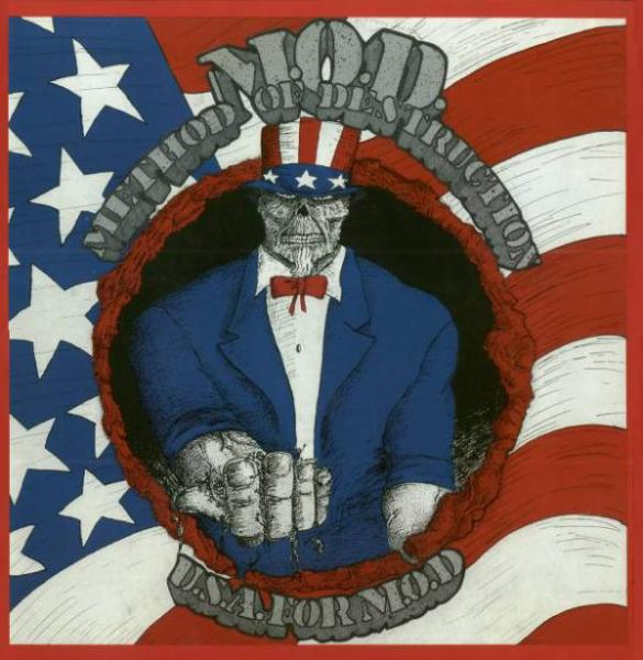 METHOD OF DESTRUCTION : U S A  For M O D  2ND HAND lp - KVLT shop