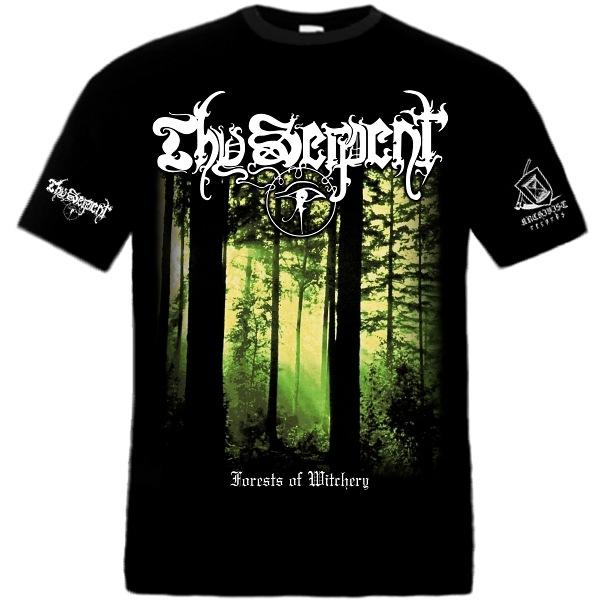 THY SERPENT : Forests of Witchery TS XL-size shirt - KVLT shop