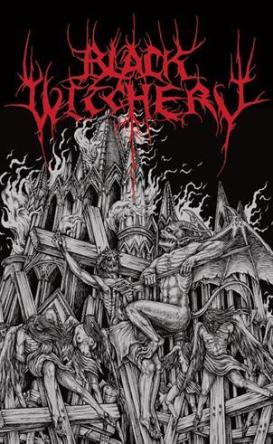 BLACK WITCHERY : Inferno of Sacred Destruction mc - KVLT shop