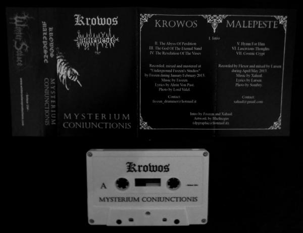 KROWOS / MALEPESTE : Mysterium Coniunctionis mc - KVLT shop