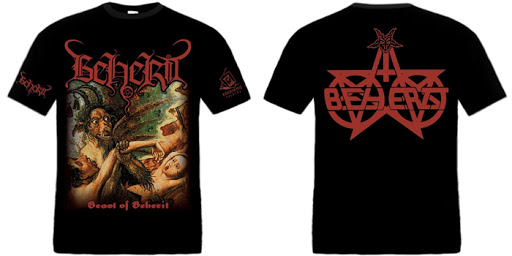 BEHERIT : Beast of Beherit TS L-size