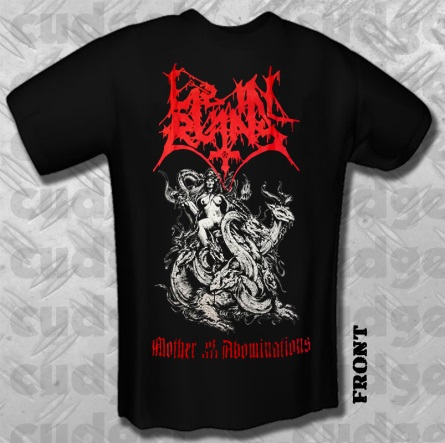 LIE IN RUINS : Mother of All Abominations TS M-size