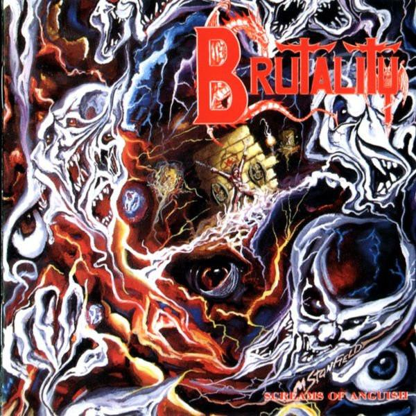 BRUTALITY : Screams Of Anguish 2ND HAND