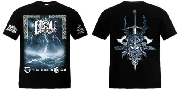 ABSU : The Third Storm Of Cythraul  TS S-size