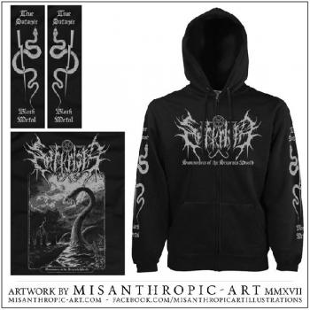 SARKRISTA : Summoners of the Serpents Wrath Hoodie XL-size