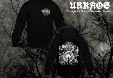 URKAOS : Through the Fires of Damnation Hoodie M-size