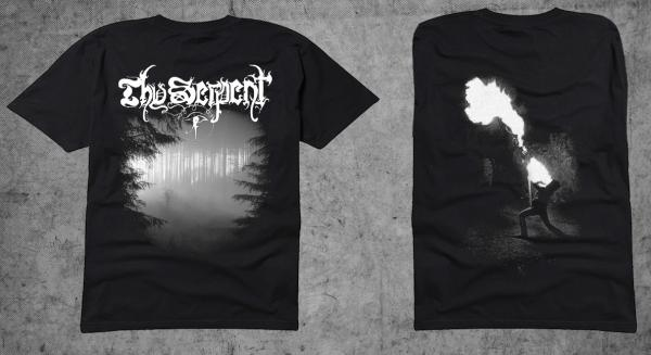 THY SERPENT : Forests of Witchery TS L-size shirt - KVLT shop