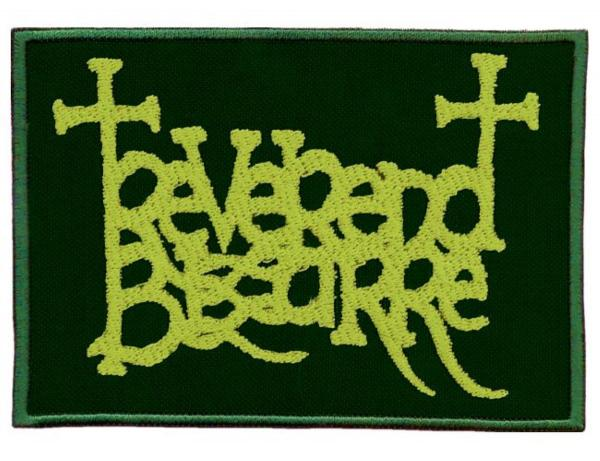 REVEREND BIZARRE : Logo patch green