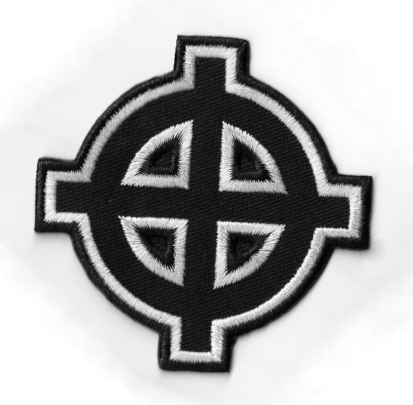 PATCH : Celtic Cross shaped