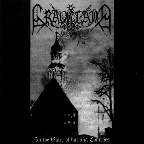 GRAVELAND : In the Glare of Burning Churches 2ND HAND