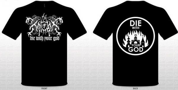 KRODA : Die With Your God TS XL-size