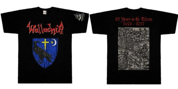 WALLACHIA : 25 Years on the Throne TS S-size