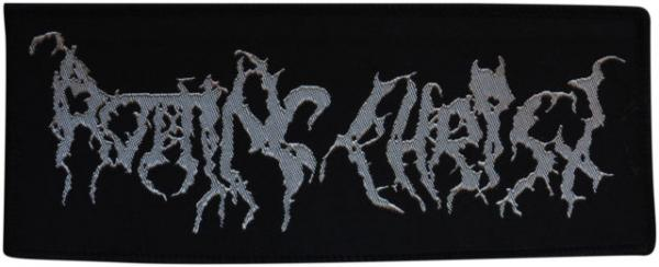 ROTTING CHRIST : Logo patch (silver)