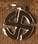 BUTTONS : Swastika pendant 2