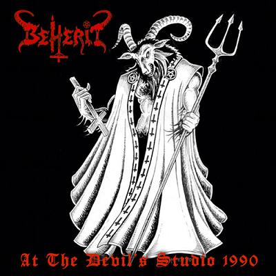 BEHERIT : At the Devil's Studio 1990 (US edit.)