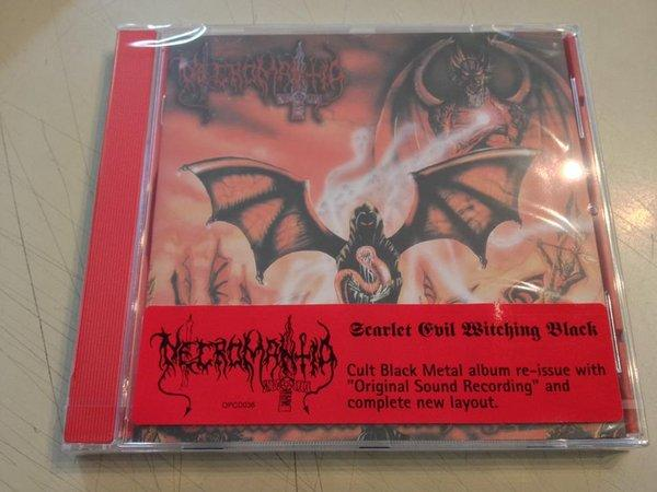 NECROMANTIA : Scarlet Evil Witching Black
