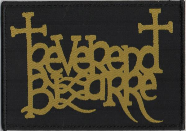 REVEREND BIZARRE : Logo patch