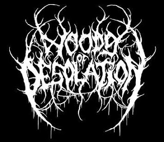 WOODS OF DESOLATION : Logo patch