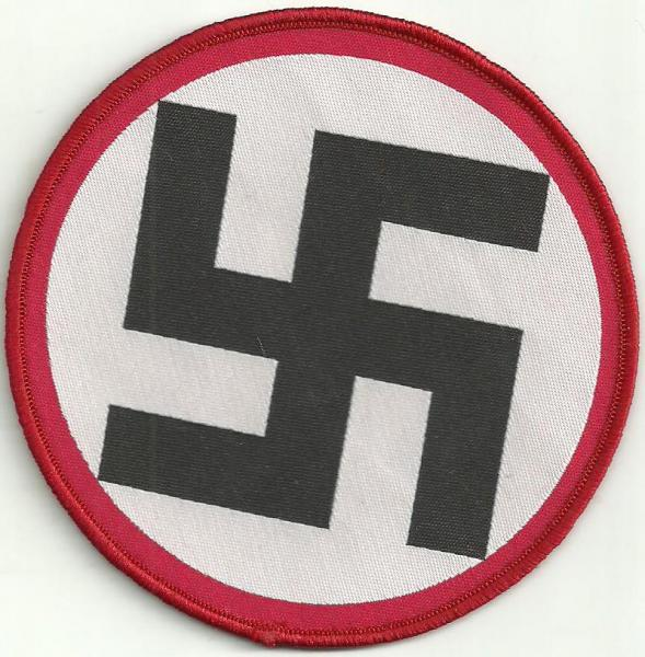 PATCH : Swastika - Red Blood