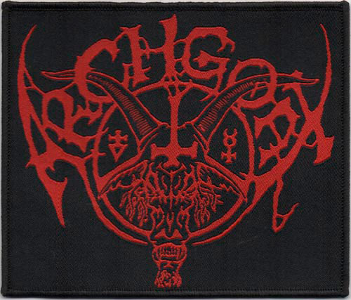 ARCHGOAT : Red logo patch