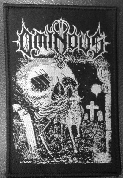 OMINOUS : Worship Death patch - KVLT shop