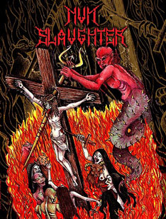 NUNSLAUGHTER : Live in Clifton New Jersey