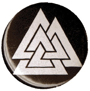 BUTTONS : Valknut button