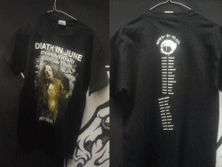 DEATH IN JUNE : 30th Anniversary Tour TS S-size