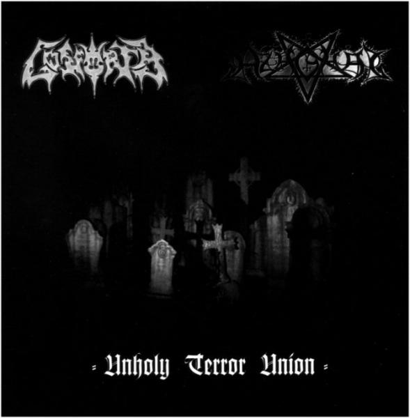 AZAGHAL / GOSFORTH : Unholy Terror Union 2ND HAND