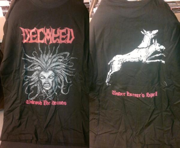 DECAYED : Under Hecate's Spell TS XL-size