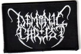 DEMONIC CHRIST : Logo patch